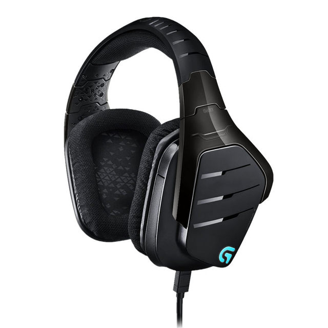 Logitech G633 Artemis Spectrum  RGB 7.1 Surround Sound Gaming Headset Multiple Platform Compatibility Exceptional Audio Per 4