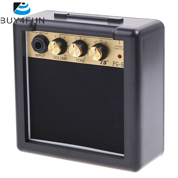 newest pg 5 5w electric guitar amp amplifier speaker volume tone control electric guitar parts. Black Bedroom Furniture Sets. Home Design Ideas