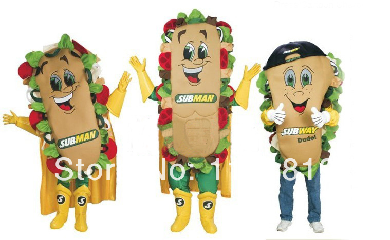 MASCOT sandwich mascot costume custom fancy costume anime cosplay mascotte theme fancy dress carnival costume