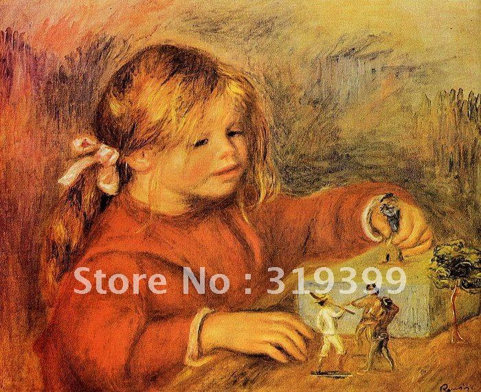claude renoir playing by pierre auguste renoir , oil painting reproduction on linen canvas,Free DHL Shipping,100% handmadeclaude renoir playing by pierre auguste renoir , oil painting reproduction on linen canvas,Free DHL Shipping,100% handmade
