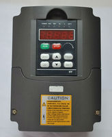 220V Variable Frequency Drive Inverter 4000watt 5HP Power 16A VFD For Speed Control 4.0KW Motor 0-400Hz