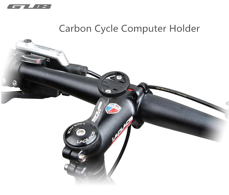 GUB Carbon Cycle Computer holder Bike Stopwatch Hold For Garmin CATEYE Bryton Code Table Bracket MTB Road Bicycle Computer Mount