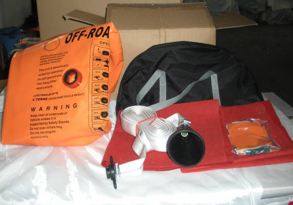 NEW ARRIVAL 3 Ton Exhaust Air Jack And Inflatable jack Exhaust and pump dual purpose jack 3TON