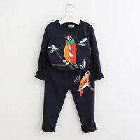 Clothing Sets 2016 Fashion Sleeveless Print Summer Style Baby Boys Girls Shirt Shorts Belt 3pcs Suit