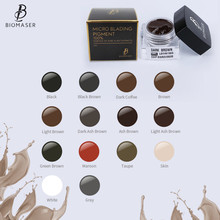 BIOMASER Microblading Ink Pigment Tattoo Ink Brand Permanent Makeup Pigment for Eyebrow Eyeliner lip 100% Plant Material free shipping by china post 5 pcs box 10ml 9647 ash brown biomaser tattoo micro pigment permanent makeup ink