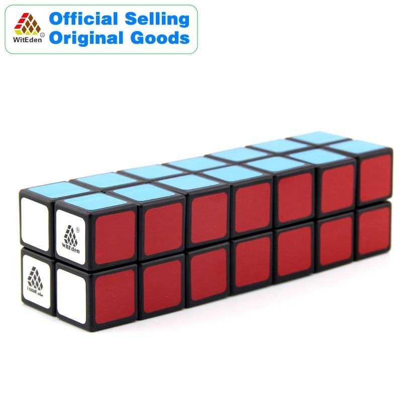 WitEden 2x2x7 Cuboid Cube Magique 1C 227 Cubo Magico Professionnel Vitesse Neo Cube Puzzle Kostka Antistress fidget Jouets Pour Enfants