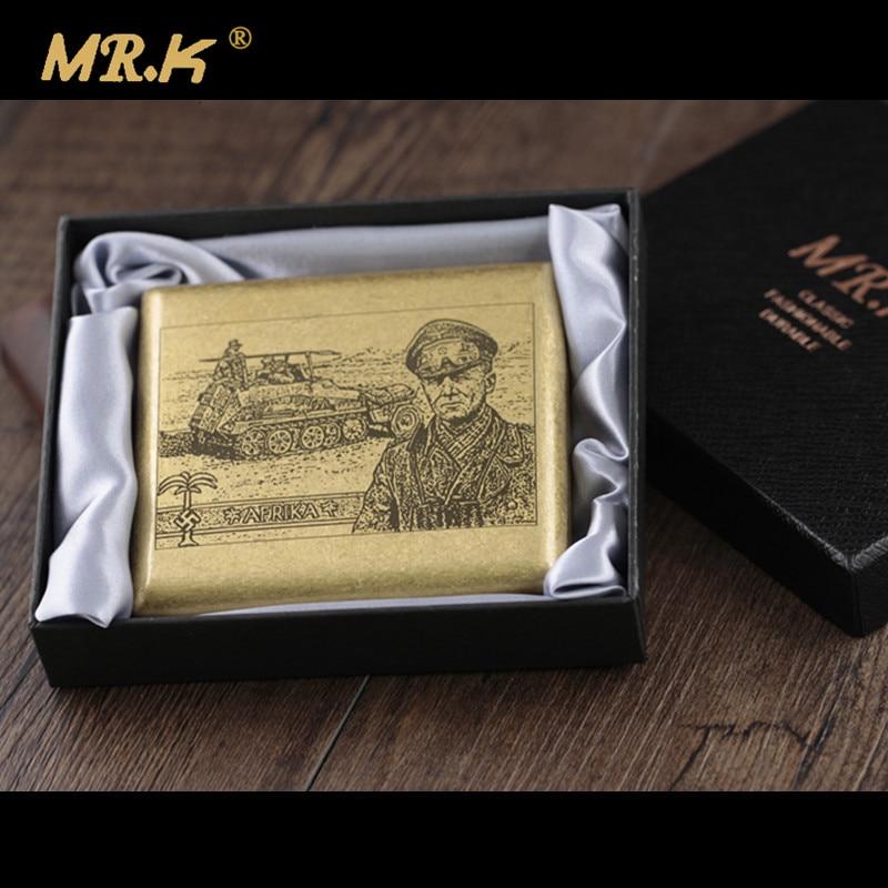MR.K S017 Desert Fox Marshal Rommer Male Pure Copper 20 Cigas
