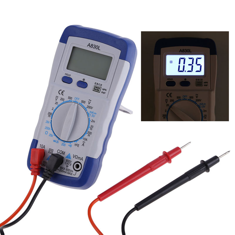 Simpson Electric Ac High Voltage Probe : New high quality a l lcd digital multimeter dc ac
