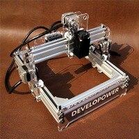 New DIY 2000MW A5 17x20cm Laser Engraver Cutting Machine Desktop Engraving CNC Printer DIY Desktop Wood