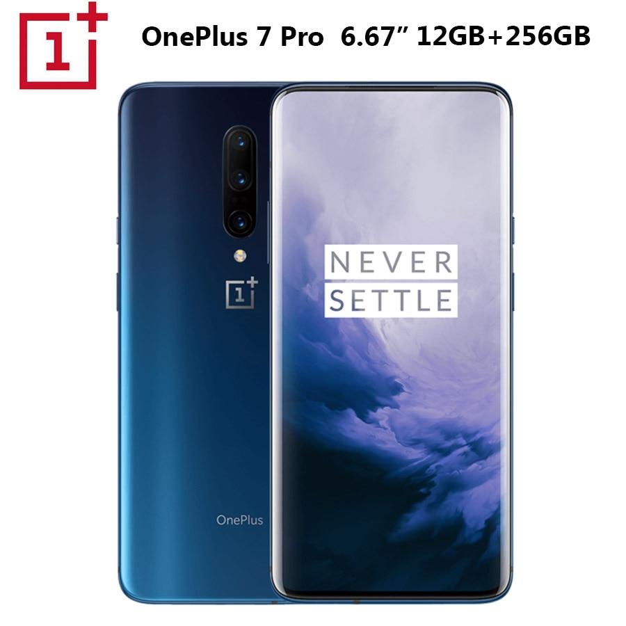 Фото. 2019New OnePlus 7 Android 9,0 мобильный телефон 8 Гб 256 Snapdragon855 Octa core 6,41 дюйм 2340