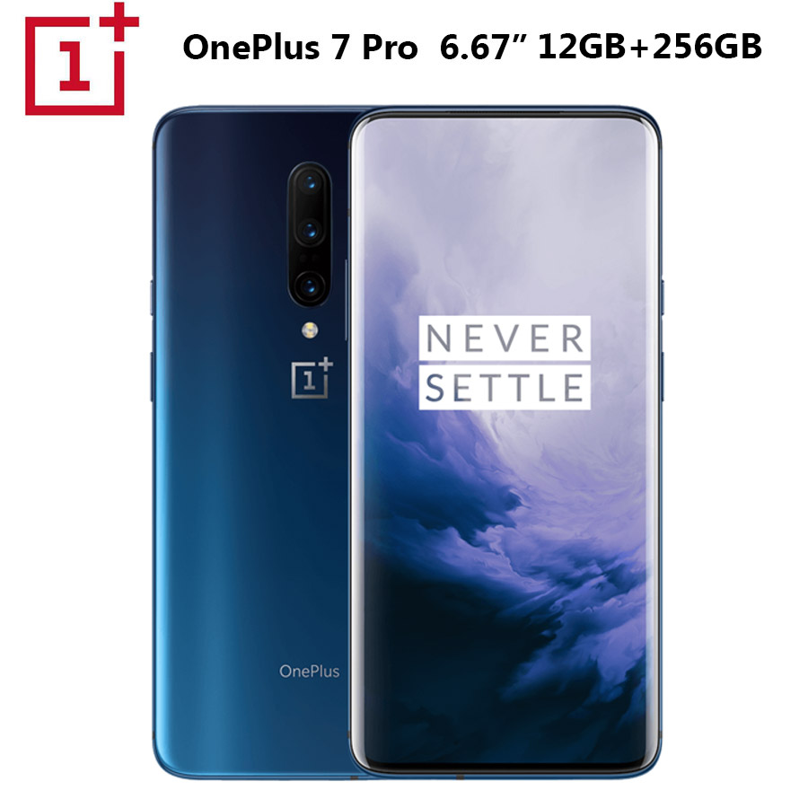 NEW OnePlus 7 Pro Mobile Phone 12GB+256GB Snapdragon855 Octa Core 6.67