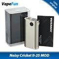 Original wismec grillo ruidoso ii-25 grillo ruidoso 2 mod cigarrillo electrónico mod e-cigs versión actualizada de grillo ruidoso mod
