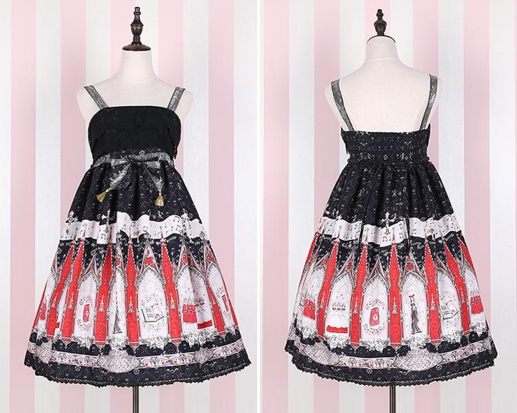 2019 Лято момичета сладка рокля Lolita - Дамски дрехи - Снимка 4