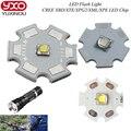 1 unids XPG2 Cree XM-L T6 XBD R3/XP-E R3/R5/XT-E R5 Chips de LED Linterna bombilla UV Led Diodo Blanco Fresco con 20mm base