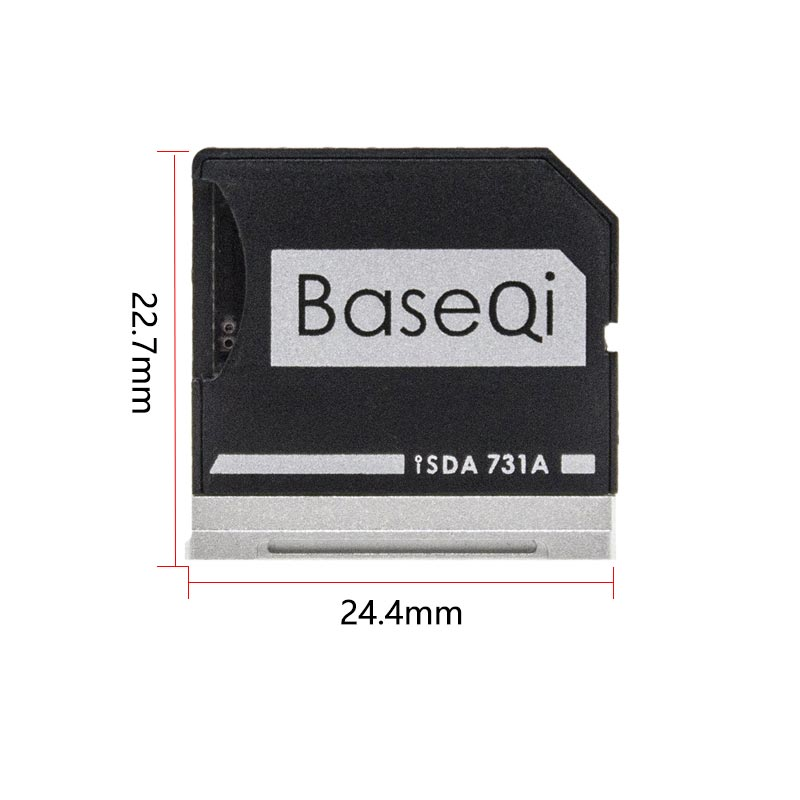 """Image 2 - BaseQi card reader Adapter For Dell XPS 13"""" mercedes benz adaptador ssd Mini Card Drive Adapter hard disk usb para movil-in Memory Card Adapters from Computer & Office"""