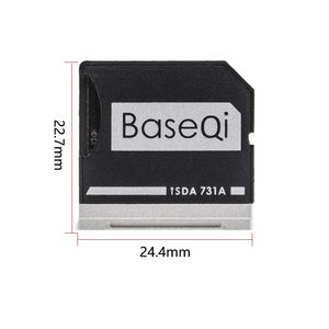 """Image 2 - BaseQi メモリースティック pro デュオアダプタデルの Xps 13 """"adaptador ssd カードリーダーミニカードドライブアダプタハードディスク usb パラモビル"""