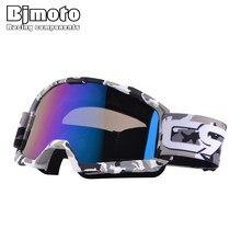 21c3f7591e7 BJMOTO Oculos Motocross Goggles Ski Snow Skate Goggle Helmet Mask Eyewears  Sun Glasses For Motorcycle Dirt Bike ATV
