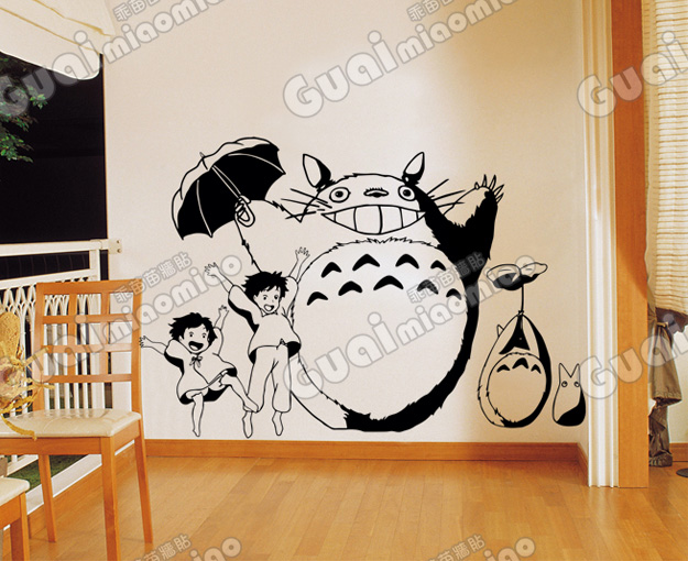 Хаяо Миязаки Тоторо ТОТОРО қолмен - Үйдің декоры - фото 1