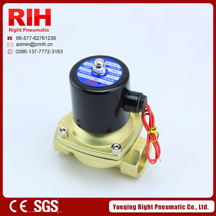 RIH brand 2/2Way  normal closed brass solenoid valves 1/4''  2W040-10 wireless pager system 433 92mhz wireless restaurant table buzzer with monitor and watch receiver 3 display 42 call button