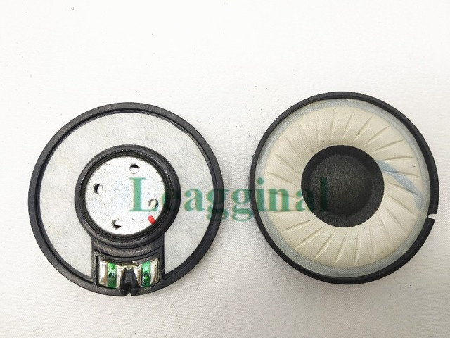 50MM unit speaker wearing silk wool composite cone diaphragm unit  DIY headset accessories 1pair=2pcs