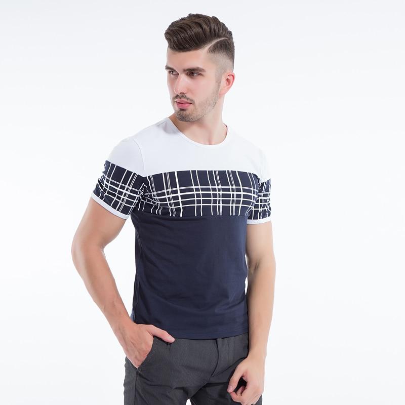 Liseaven Mens T Shirt Slim Fit Crew- ի պարանոցի - Տղամարդկանց հագուստ - Լուսանկար 4