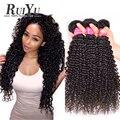 Brazilian Kinky Curly Virgin Hair 3pcs Brazilian Virgin Hair Human Hair Bundles Brazilian Hair Weave Bundles black friday deals