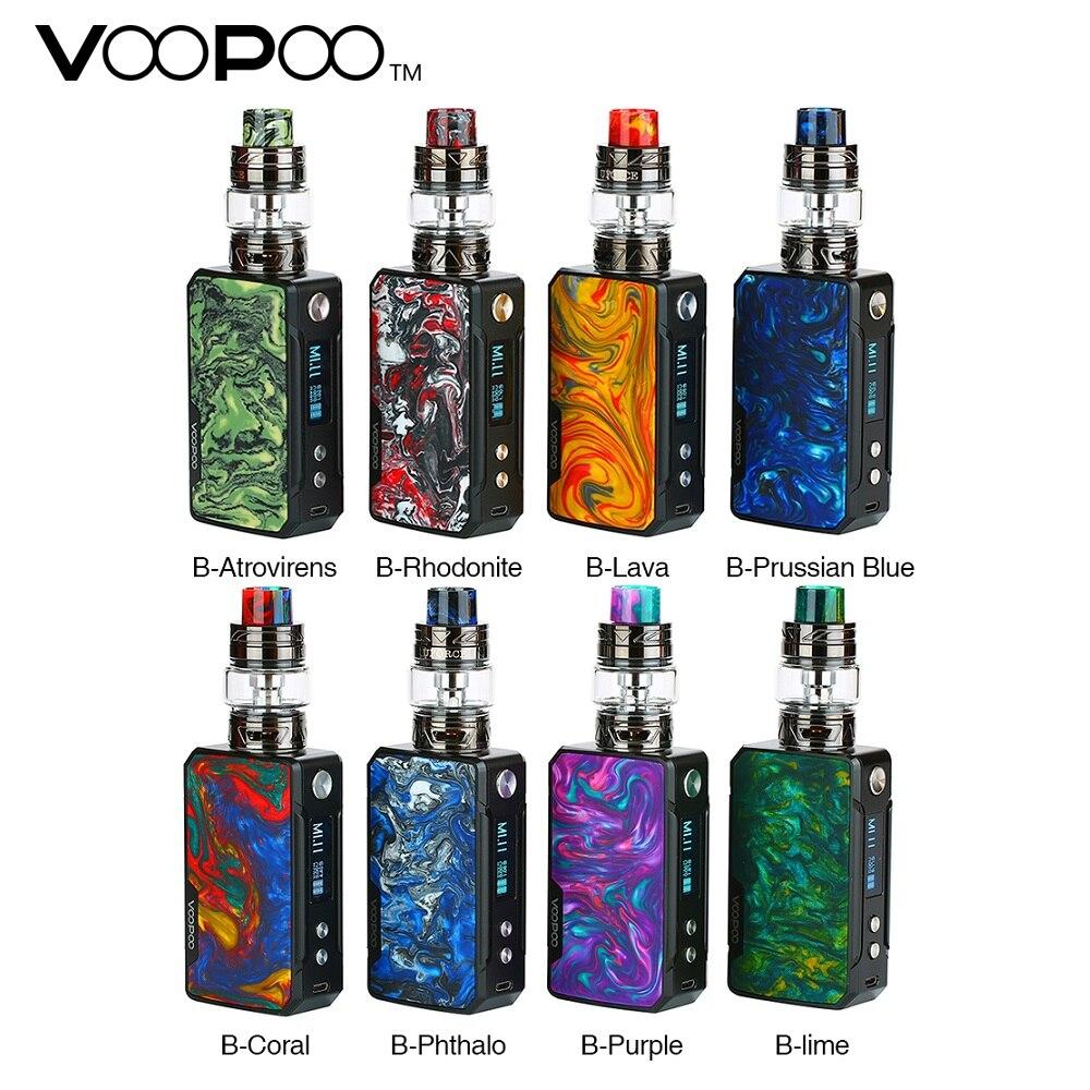 New Original VOOPOO Glisser Mini TC Kit avec Intégré 4400 batterie mah & 5 ml/2 ml UFORCE T2 Réservoir et Firmware mis à jour module cigarette électronique Vaporisateur Kit