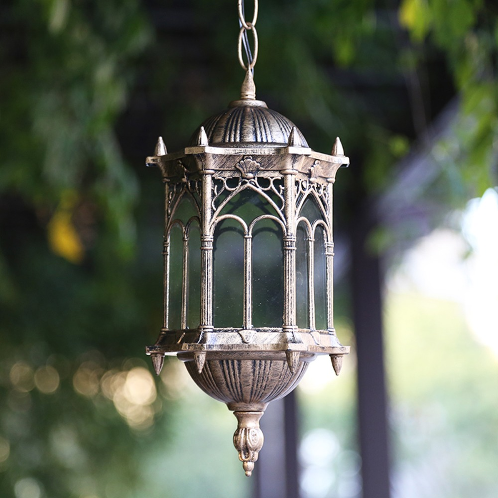 Outdoor Warehouse Light: Homestia Brand 1pc Retro Art Outdoor Pendant Lamps Shop