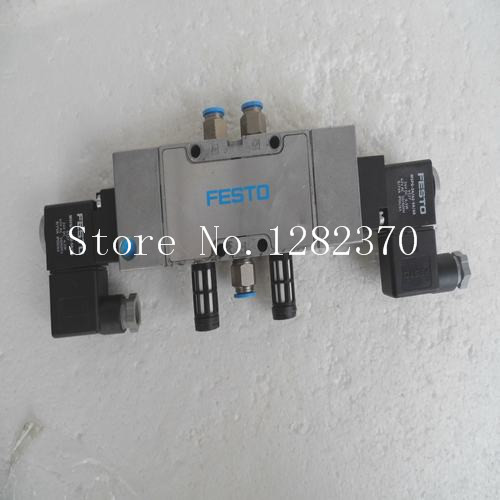 [SA] Genuine original special sales FESTO solenoid valve MFH 5/3 G 1/4 B stock 19787