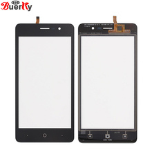 BKparts 100% Tested 5pcs High Quality For Doogee X10 Touch screen touch panel Glass Digitizer Replacement Free Shipping