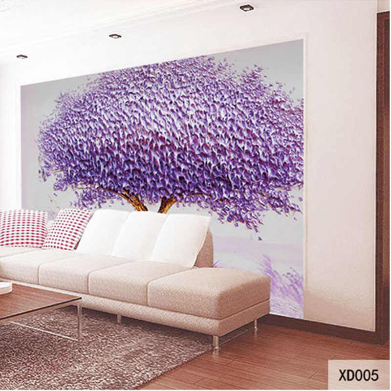 Custom DIY Print Fabric & Textile Wallcoverings For Walls Wall Mural Fine cotton and linen For Living Room European Seamless Top