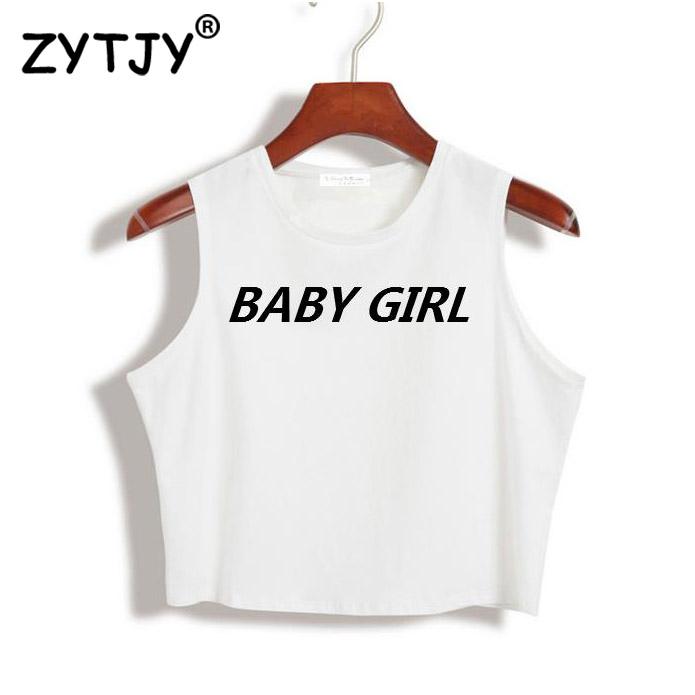 HTB1IZnOQFXXXXcpXFXXq6xXFXXXH - Women Crop Top Baby Girl Shirt PTC 12