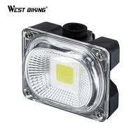 WEST BIKING Bicycle Tail Light Super Bright USB Charging Flashlight Rainproof Cycling Seat Post LED Lamp