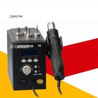 Высокое качество 2008ESD Термофен цифровой Дисплей антистатические свинца фена 110 В/220 В 700 Вт 120L/мин 100 500 градусов Лидер продаж
