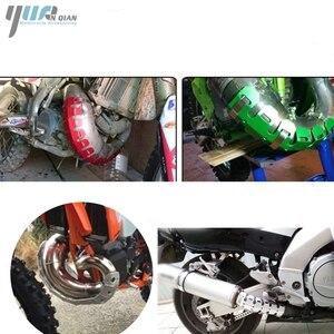 Image 5 - YUANQIAN ท่อไอเสียท่อขาความร้อนสำหรับ BMW F800GS/F800R F800GT 13 16 F800ST F800S f650GS F700GS