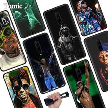 Rapper Lil Wayne Black Soft Case for Oneplus 7 Pro 7 6T 6 Silicone TPU Phone Cases Cover Coque Shell