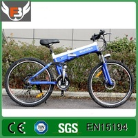 48V 500W Electric Bike 21 Speed Gearbox Electric Bike 26 inch Folding Mountain Bike with High Quality and Cheap Cost