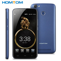 Original HOMTOM HT50 5500mAh 4G Mobile Phone Android 7 0 5 5 HD MT6737 Quad Core