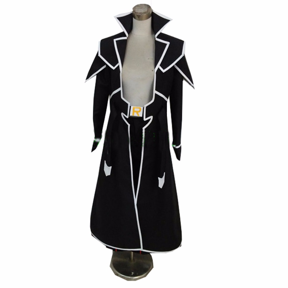 2018 Yu-Gi-Oh! Duel Monsters GX Zane Truesdale Ryo Marufuji Uniform COS Clothing Cosplay Costume(China)