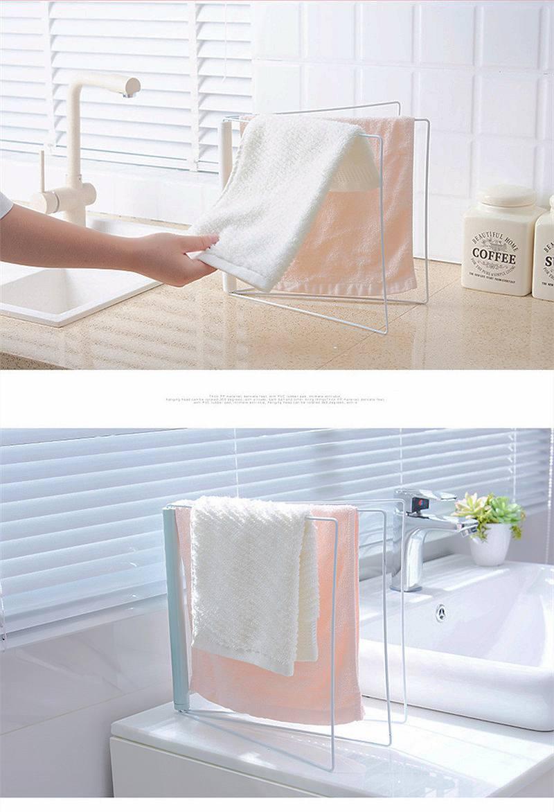 Urijk Bathroom Towel Holder Iron Towels Organizer Towel Rack Storage ...