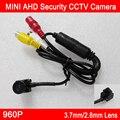 Novo! 1.3 m 960 P CMOS 2.8mm/3.7mm lens Mini Indoor AHD Câmera de CCTV Segurança