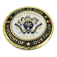 Personalizzata In Metallo Artigianato Commemorative 3D Moneta Sfida Coin