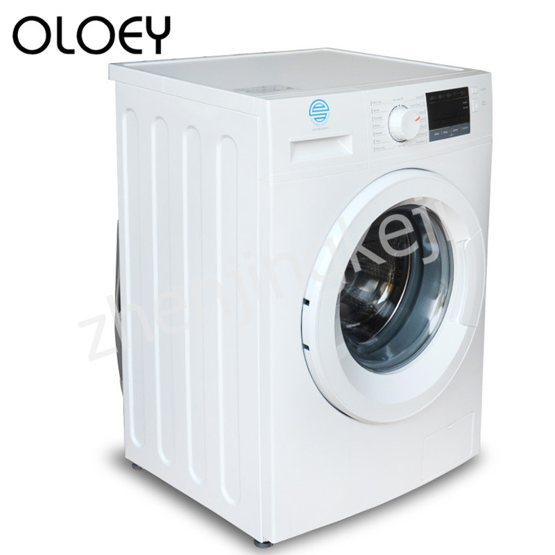 8KG Fully Automatic Front Opening Roller Washing Machine Lower Outlet Anti-winding Save Water Mute First Level Child Lock Clean