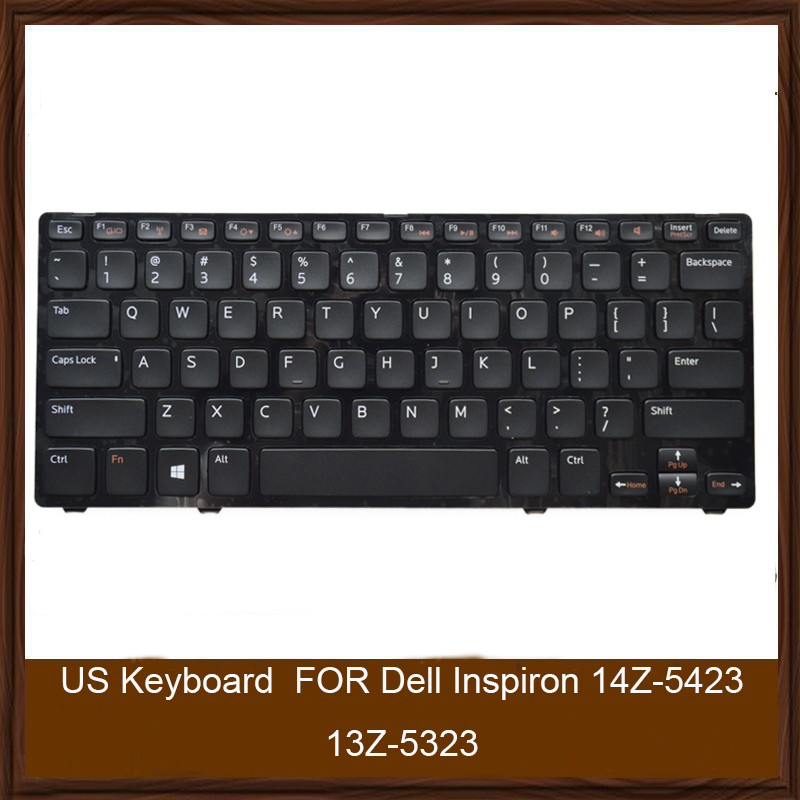 Original US Keyboard FOR Dell Inspiron 14Z-5423 13Z-5323 Vostro 5323 V3360 P31G P35G