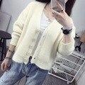 Pregnant womansweater coat Shot loose knit cardigan blouse short fashion sweater coat thick female tide Maternity Coat 8312S