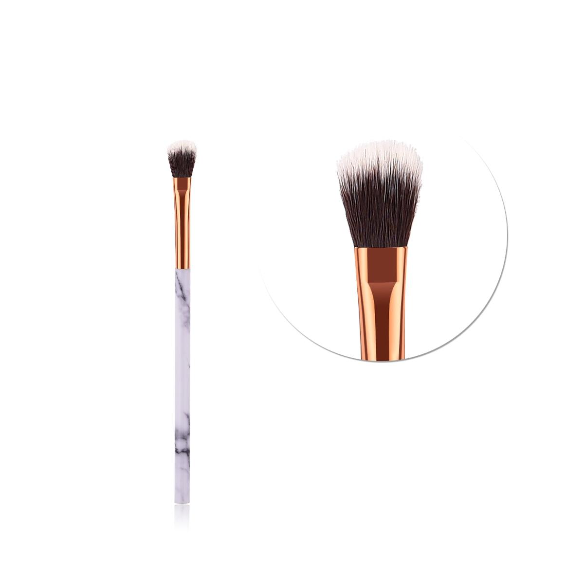 ELECOOL 1pcs Makeup Brush Marble Texture Handle With Nylon Hair Makeup Brush For Eye Shadow Portable Selling Hot Single Brush