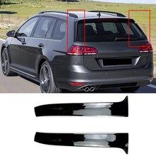 Adesivo de haste traseira para carro, tampa lateral do spoiler, guarnição, para volkswagen vw golf mk 7, variant estate, carrinho, acessórios automotivos estilizador