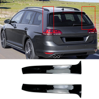 Car Rear Wing Side Spoiler Stickers Trim Cover for Volkswagen VW Golf MK 7 Variant Estate Wagon Alltrack Accessories Car Styling