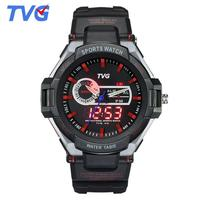 New S Shock Watches Luxury Brand TVG Rubber Strap Analog Digital Wrist Watch Fashion Men Sports Watches hodinky