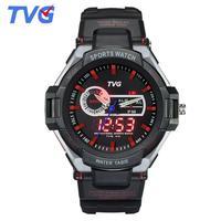 New S Shock Watches Luxury Brand TVG Rubber Strap Analog Digital Wrist Watch Fashion Men Sports Watches hodinky